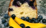 Blueberry Cream Cheese Pound Cake I