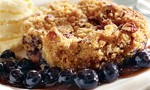Blueberry Streusel Cobbler