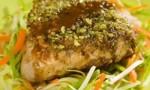Wasabi Encrusted Tuna Steaks
