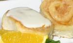 Grandma's Orange Rolls with Orange Cream Cheese Frosting