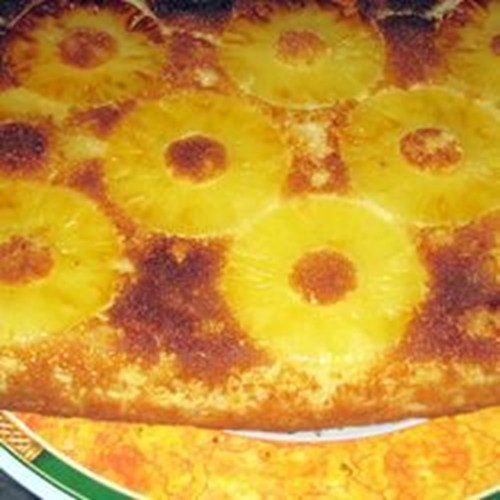 Pineapple Cake I Yum Taste