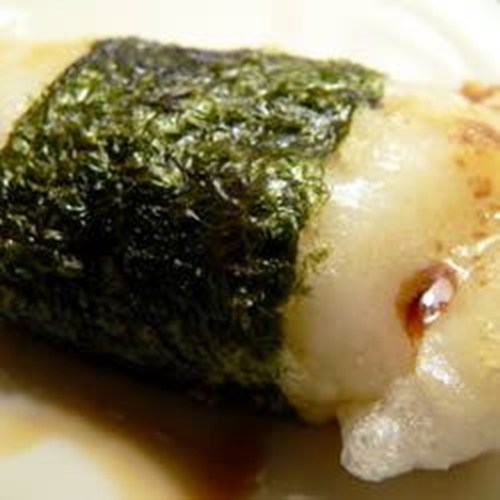 Broiled Mochi With Nori Seaweed Yum Taste