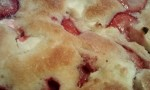 Strawberry Cream Cheese Cobbler