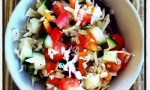 Quick and Tart Cabbage Side Salad