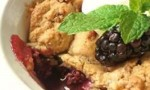 Everything But The… Blackberry Cobbler