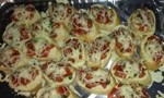 Healthier Double Tomato Bruschetta