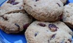 Cranberry Orange Wheat Scones