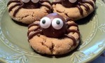 Peanut Butter Spider Cookies