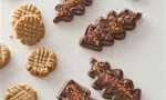 Chocolate Leaf Cookies