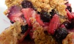 Blueberry-Apple Crunch