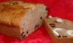 Moist Banana Raisin Bread