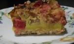 Mom's Rhubarb Custard Torte