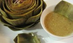 Lemon and Mustard Dipping Sauce for Artichokes