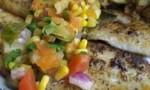 Catfish with Tropical Fruit Salsa