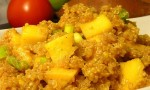 Curried Quinoa Salad with Mango
