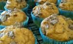 Light Pumpkin Chocolate Chip Muffins
