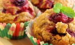 Butternut Squash and Cranberry Muffins