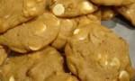Pumpkin Pecan White Chocolate Cookies