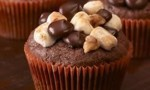 Ghirardelli Rocky Road Cupcakes