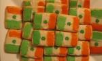 Irish Flag Cookies
