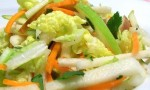 Jicama, Carrot, and Green Apple Slaw
