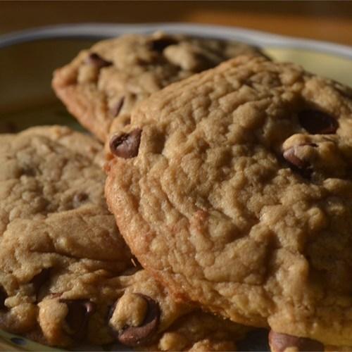 Best Big, Fat, Chewy Chocolate Chip Cookie - Yum Taste