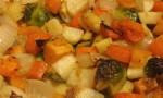 Seasoned Roasted Root Vegetables