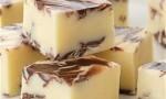 Chocolate Swirled Peppermint Fudge