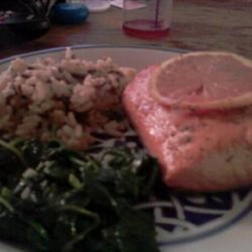 Sweet Citrus Baked Salmon