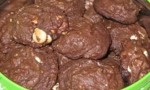 Chocolate Pile-Up Cookies
