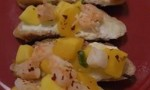 Shrimp and Mango Bruschetta