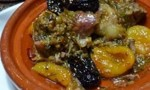 Goat Shoulder Braised with Prunes and Preserved Lemons
