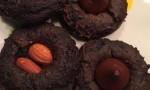 Easiest Chocolate Blossom Cookies