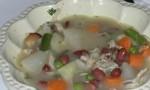 Turkey Frame Vegetable Soup