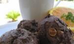 Fudgey Peanut Butter Chip Muffins
