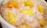 Cambodian Tapioca-Banana Pudding