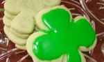 Irish Shamrock Cookies