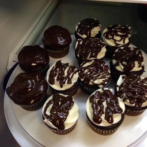 Shiny Chocolate Glaze Yum Taste