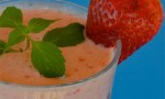 Creamy Strawberry-Pineapple Smoothie