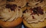 Peanut Butter Bacon Cupcake