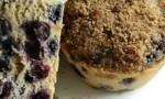 Jumbo Whole Wheat Blueberry Muffins