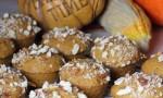 Pumpkin Almond Mini Muffins
