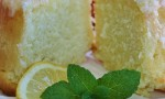 Lemon-Buttermilk Pound Cake with Aunt Evelyn's Lemon Glaze