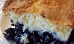 Mennonite Blueberry Cobbler