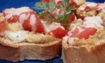 Bruschetta with Hummus