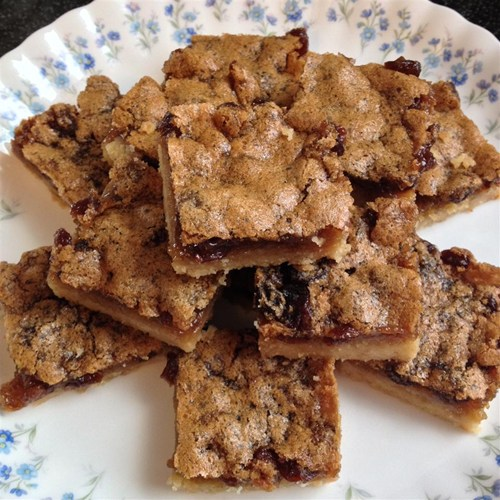 Raisin Butter Tart Squares