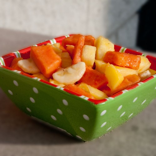 Tropical Island Fruit Salad