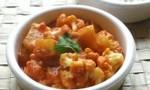 Gobi Aloo (Indian Style Cauliflower with Potatoes)