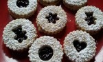 Raspberry Linzer Cookies