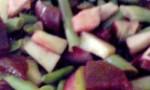 Beet, Bean and Apple Salad